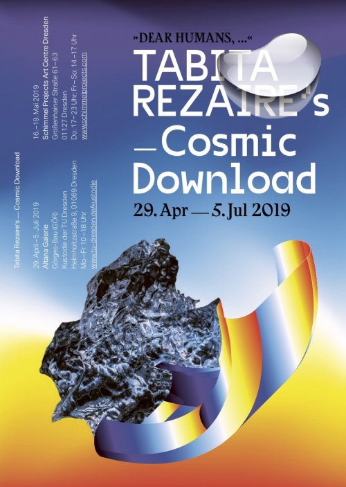 "Ausstellung ""TABITA REZAIRE`S COSMIC DOWNLOAD"""