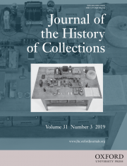 Shaping Scientific Instrument Collections