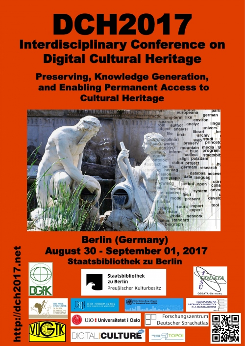 "Interdisciplinary Conference ""DCH 2017 – Digital Cultural Heritage"""
